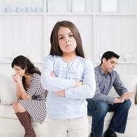как разводят с маленьким ребенком